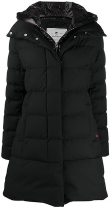 Woolrich Down-Feather Hooded Coat