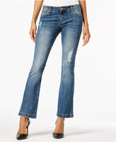 KUT from the Kloth Petite Chrissy Flare-Leg Jeans
