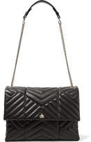 Lanvin Sugar Medium Quilted Leather Shoulder Bag - Black