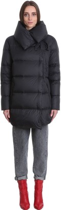 Bacon Puffa 75 Puffer In Black Polyester