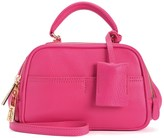 Juicy Couture Jet-Set Juicy Leather Satchel Crossbody Bag