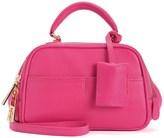 Juicy Couture Jet-Set Juicy Leather Satchel Crossbody Bag