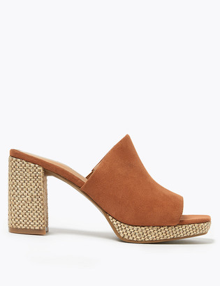 Marks and Spencer Platform Open Toe Mules