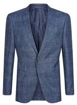 BOSS T-Heel1 Wool Blend Check Jacket