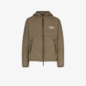 Pas Normal Studios Olive green Off-Race Thermal jacket