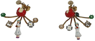 Les Nereides Gold Gold plated Earrings