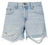 Rag & Bone Shredded Boyfriend Shorts