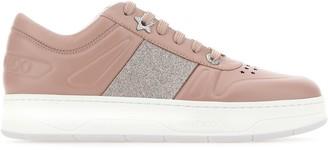 Jimmy Choo Hawaii Glitter Sneakers