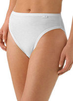 Jockey Womens Elance French Cut 3 Pack Underwear French Cuts 100% cotton