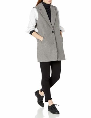 Noisy May Women's Color Sleevelss Long Vest
