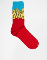 Asos Socks With French Fries Design