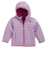 The North Face Toddler Girl's 'Mossbud Swirl' Reversible Water Repellent Jacket