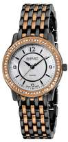 August Steiner Women's AS8027BKG Dazzling Diamond Bracelet Watch