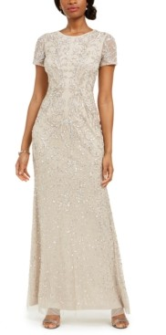 Adrianna Papell Embellished Gown