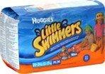 Huggies Little Swimmers Medium 24-34 Lbs, 11.0 CT (3 Pack)