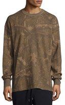 Yeezy Camouflage-Print Thermal Long-Sleeve Tee