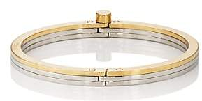 Miansai Men's Tri-Band Bangle - Silver