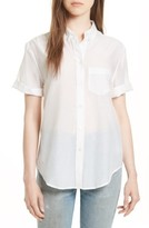 Equipment Women's Betty Cotton & Silk Shirt