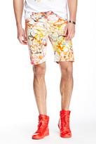 Versace Printed Denim Short