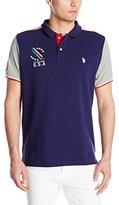 U.S. Polo Assn. Men's Classic Fit Color Block Polo Shirt