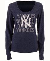 '47 Women's New York Yankees Forward Long-Sleeve T-Shirt