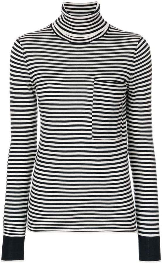 Joseph striped turtleneck sweater