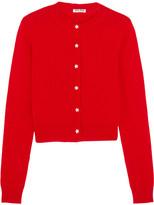 Miu Miu Cashmere Cardigan - Red