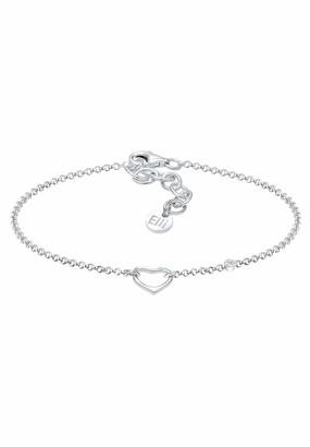 Elli PREMIUM Women Silver Link Bracelet - 0207811317_16 - 16cm length
