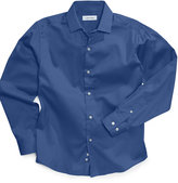 Calvin Klein Boys' Long-Sleeved Sateen Shirt