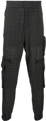 McQ Checked Cargo Trousers