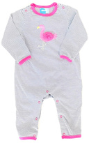 Albetta Flamingo Striped Onesie