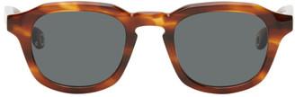 Études Tortoiseshell Minimal Sunglasses