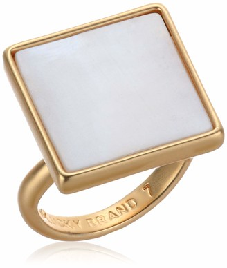 Lucky Brand Jewelry Modern Mother of Pearl Ring