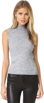 Rebecca Taylor Sleeveless Ribbed Pullover