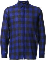 Ann Demeulemeester checked shirt