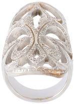Loree Rodkin XL cigar band diamond ring