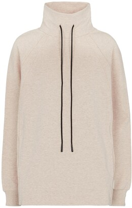 Varley Atlas stretch-cotton jersey sweatshirt