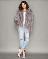 The Fur Vault Coyote Fur Jacket