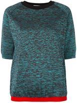 Marni melange short sleeved jumper