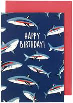 Cath Kidston Shark Greetings Card