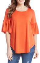 Karen Kane Women's Bell Sleeve Top