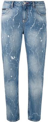 Philipp Plein Mid-Rise Boyfriend Fit Jeans