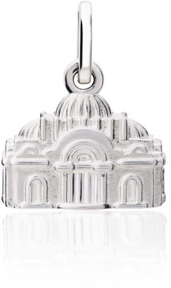 Tane Exquisitely Detailed Bellas Artes Charm Handmade In Sterling Silver