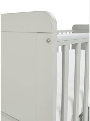 Little Acorns Cot Bed Light Grey