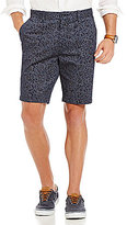 Nautica Slim-Fit Leaf Print Flat Front Shorts