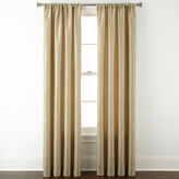 Liz Claiborne Giselle Solid Rod-Pocket Curtain Panel