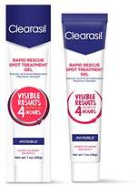 Clearasil Rapid Rescue Spot Treatment Gel, 1 oz. (Packaging may vary)
