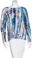 Rebecca Minkoff Silk Printed Top w/ Tags