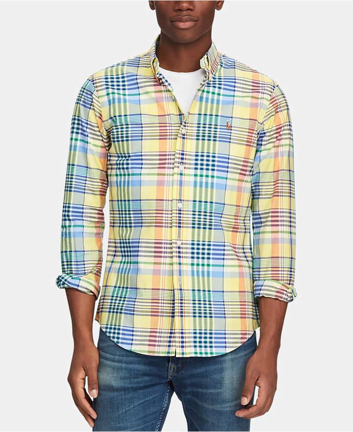 9e4a4912 Yellow Oxford Shirts - ShopStyle