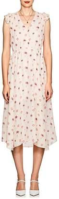 Laura Garcia Collection LAURA GARCIA COLLECTION WOMEN'S ROMY FLORAL SILK DRESS SIZE 6